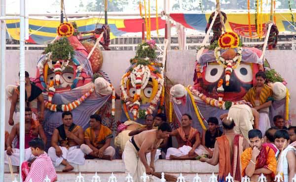 Deba Snanna Purnima - Lord Jagannath Snana Yatra